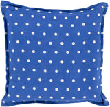 Surya Polka Dot Perfect PD-012 Pillow 22 X 22 X 5 Down filled