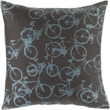 Surya Pedal Power Bold Bicycles PDP-001 Pillow by Mike Farrell main image