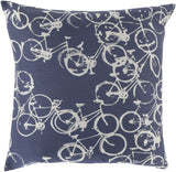 Surya Pedal Power Bold Bicycles PDP-007 Pillow by Mike Farrell main image