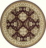 Momeni Persian Garden PG-01 Burgundy Area Rug Close up