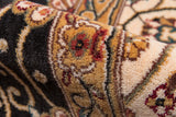 Momeni Persian Garden PG-09 Charcoal Area Rug Detail Shot