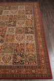 Momeni Persian Garden PG-15 Multi Area Rug Closeup