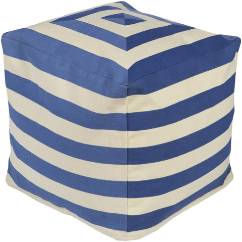 Surya Playhouse PHPF-003 Blue Pouf