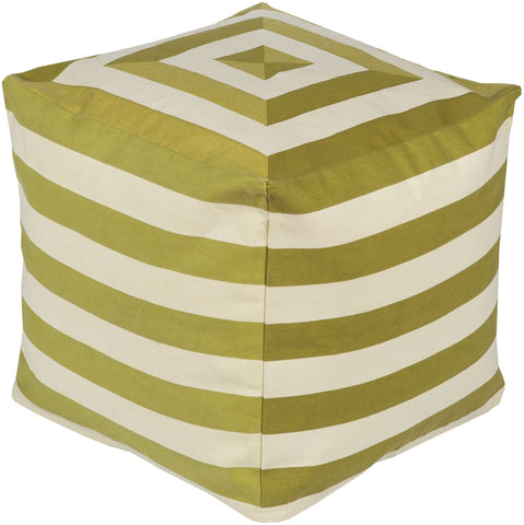 Surya Playhouse PHPF-004 Green Pouf