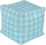 Surya Playhouse PHPF-008 Blue Pouf 18 X 18 X 18 Cube