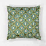 KAS Pillow L106 Teal/Gold Gramercy main image