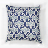 KAS Pillow L108 Ivory/Blue Chateaux main image