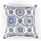 KAS Pillow L113 Ivory/Blue Mosaic main image