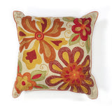 KAS Pillow L123 Ivory/Red Sea Flora main image
