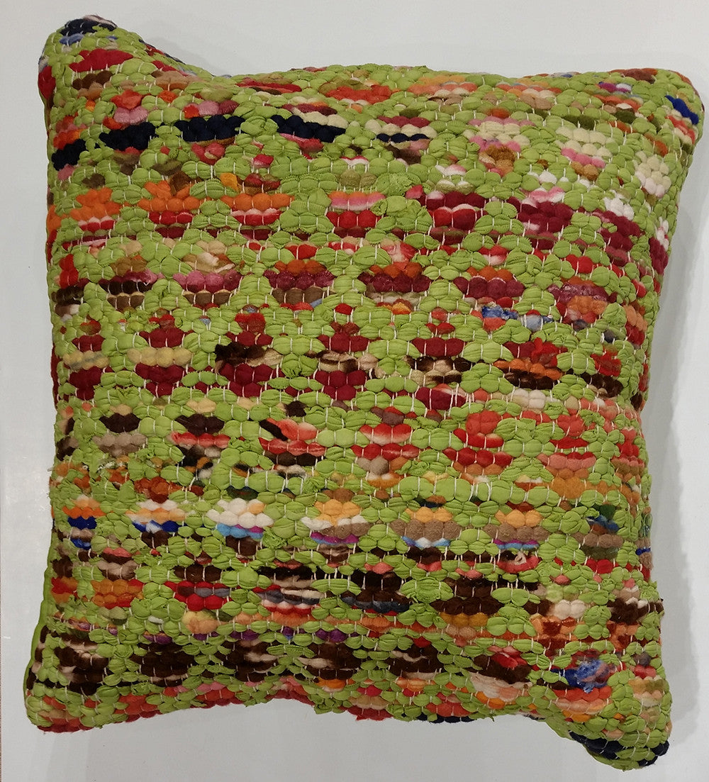 LR Resources Pillows 07274 Green