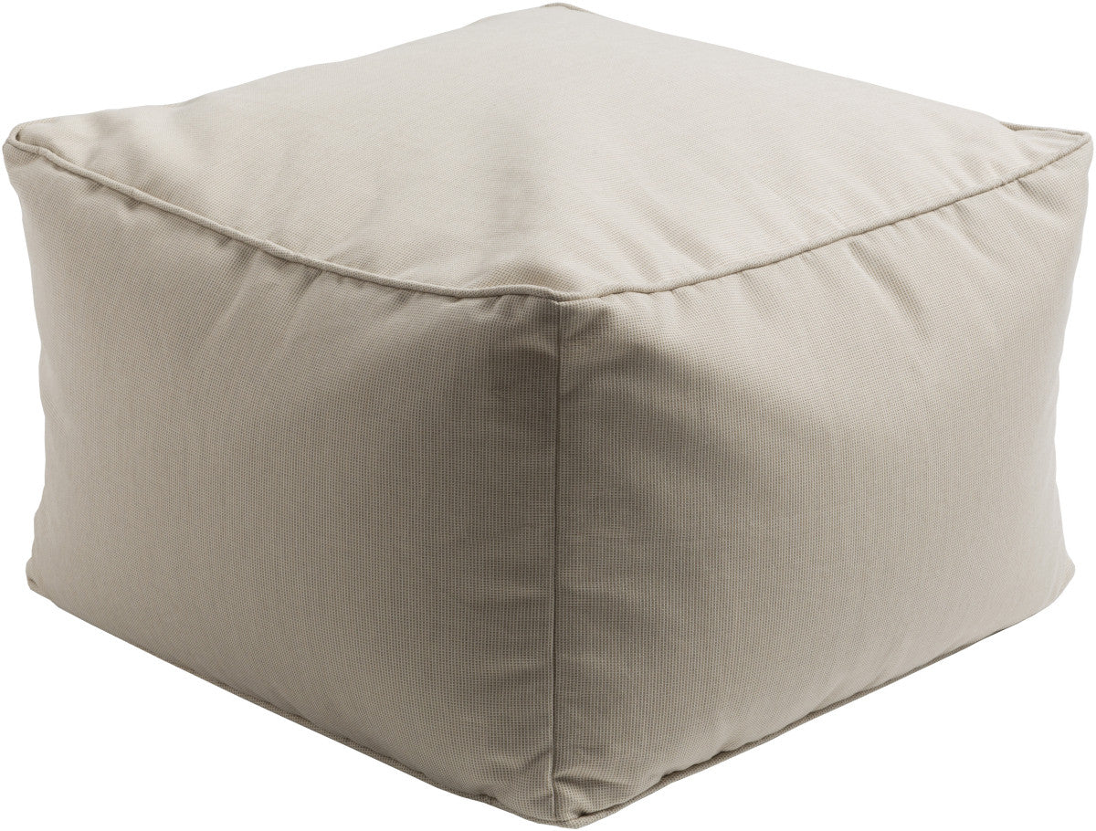 Surya Piper PIPF-006 Neutral Pouf