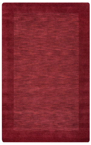 Rizzy Platoon PL0866 Red Area Rug
