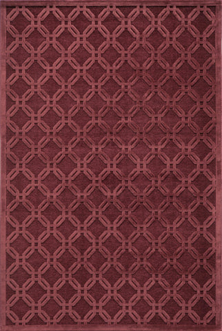 Momeni Platinum PN-08 Red Area Rug main image