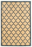 Linon Platinum Collection RUGPM20 Blue/Cream Area Rug main image