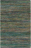 Surya Poem POE-8000 Teal Area Rug by Papilio