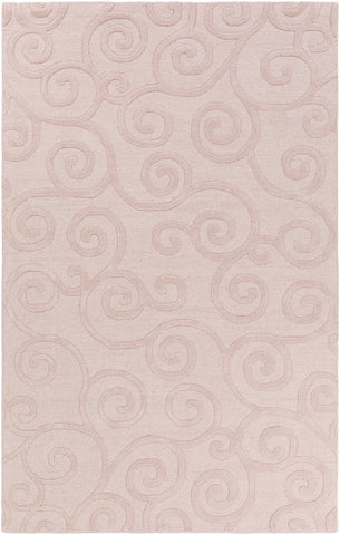 Artistic Weavers Poland Harris Light Pink Area Rug main image