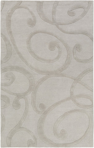 Artistic Weavers Poland Bailey Light Gray Area Rug main image