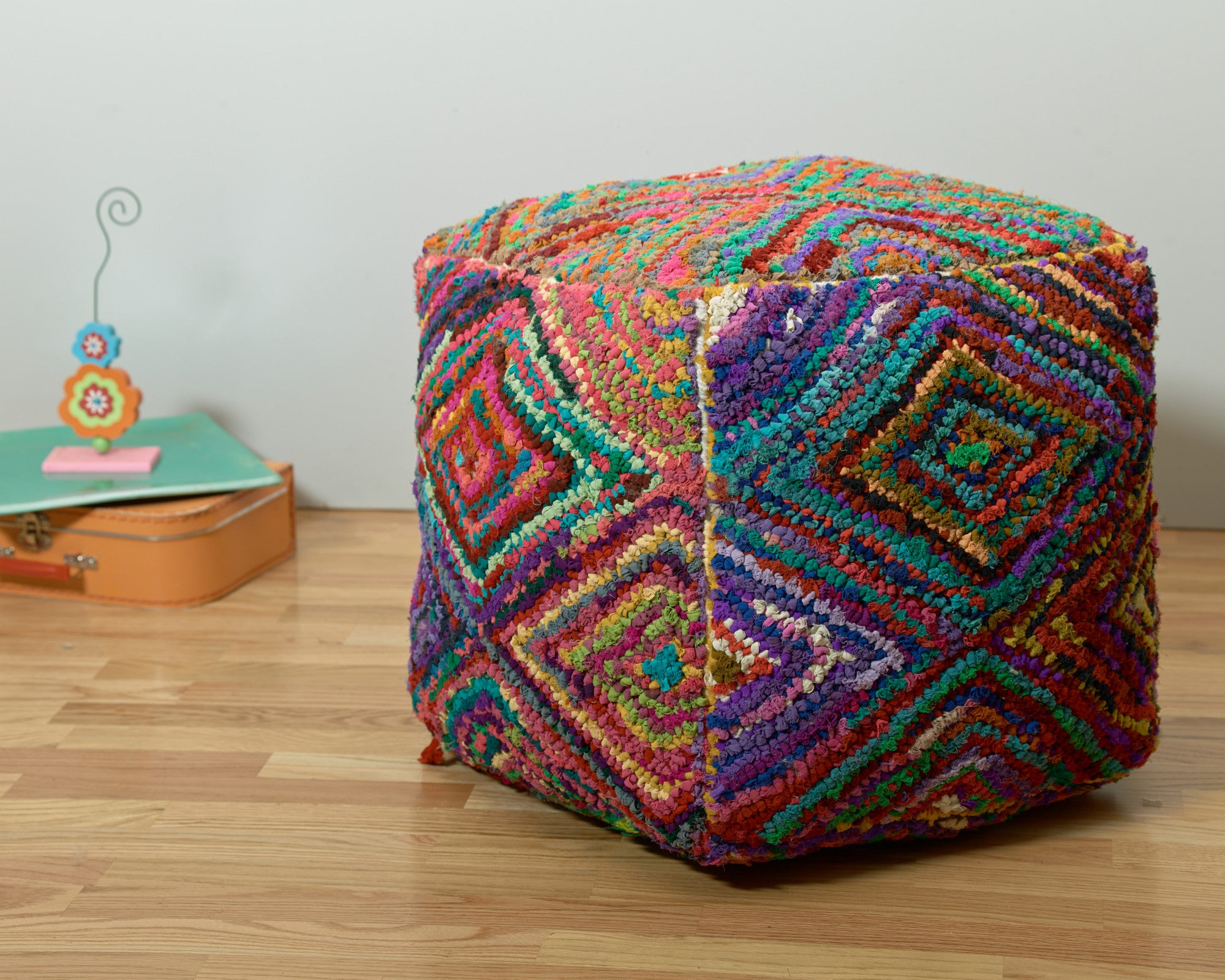 LR Resources Poufs 00812 Multi Pouf