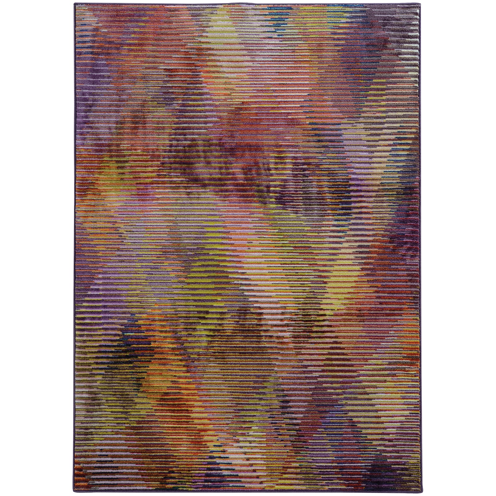 Pantone Universe Prismatic 75187 Multi/Purple Area Rug main image
