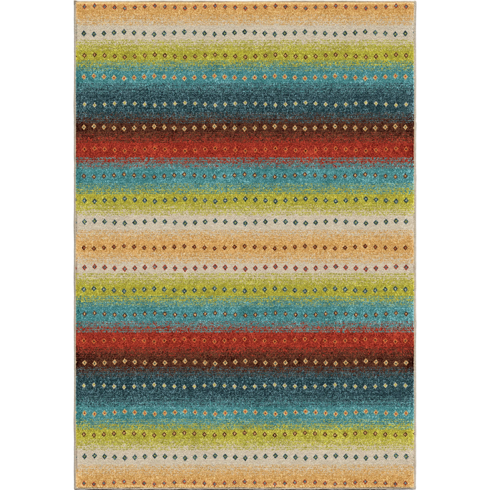 Orian Rugs Promise Sable Stripes Multi Area Rug main image