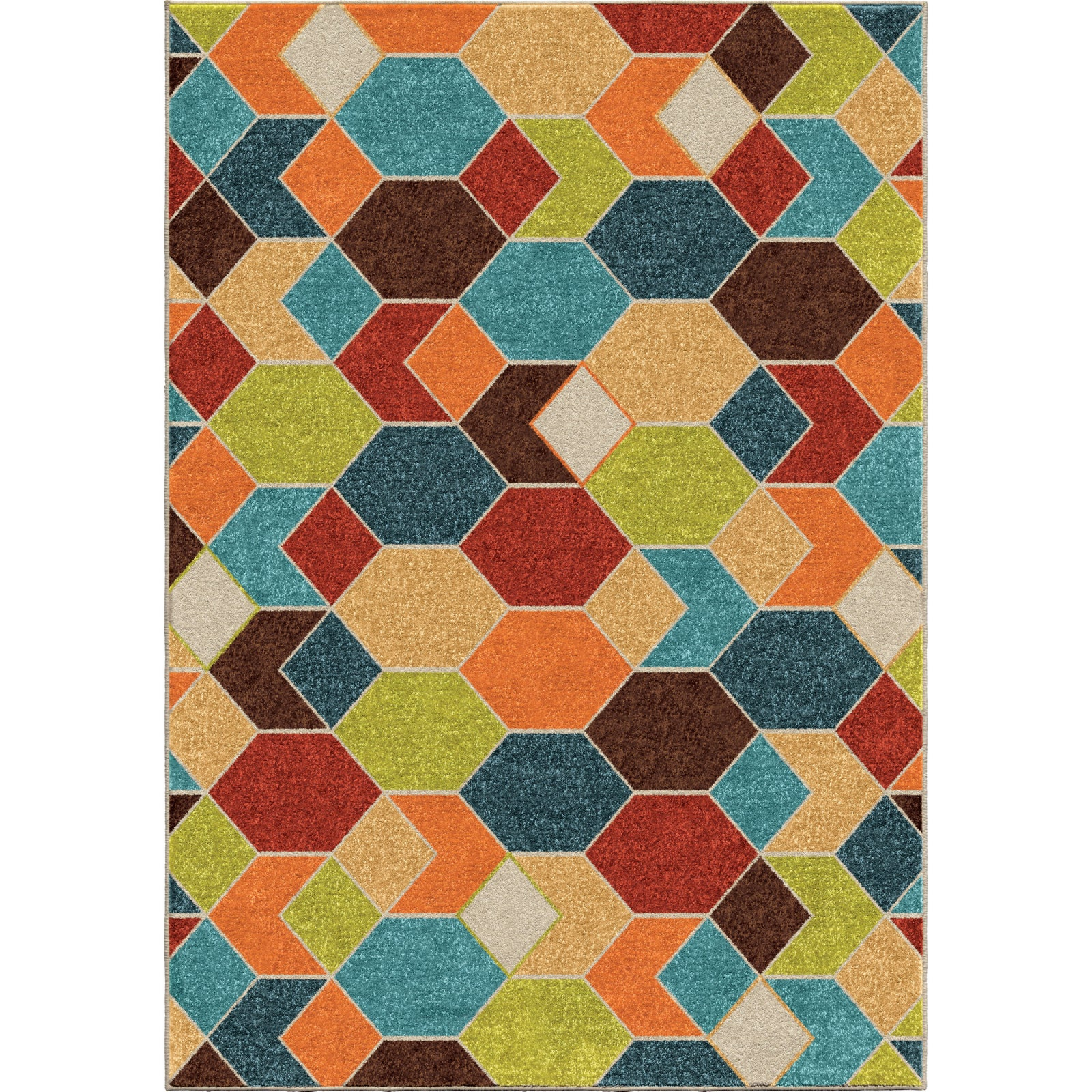Orian Rugs Promise Spectacle Multi Area Rug main image