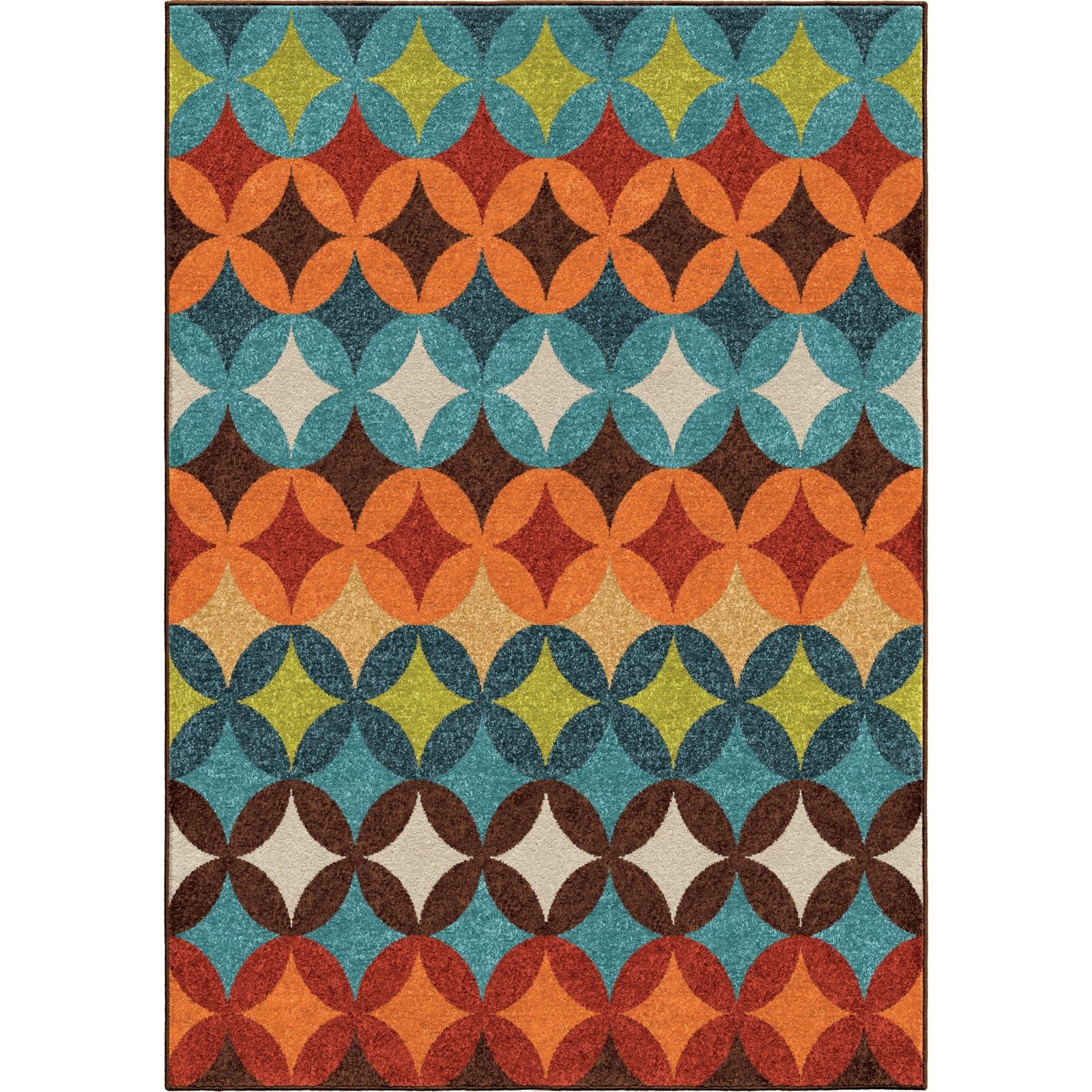Orian Rugs Promise Strawberry Fields Multi Area Rug main image