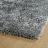 Kaleen Posh PSH01-77 Silver Area Rug Close-up Shot