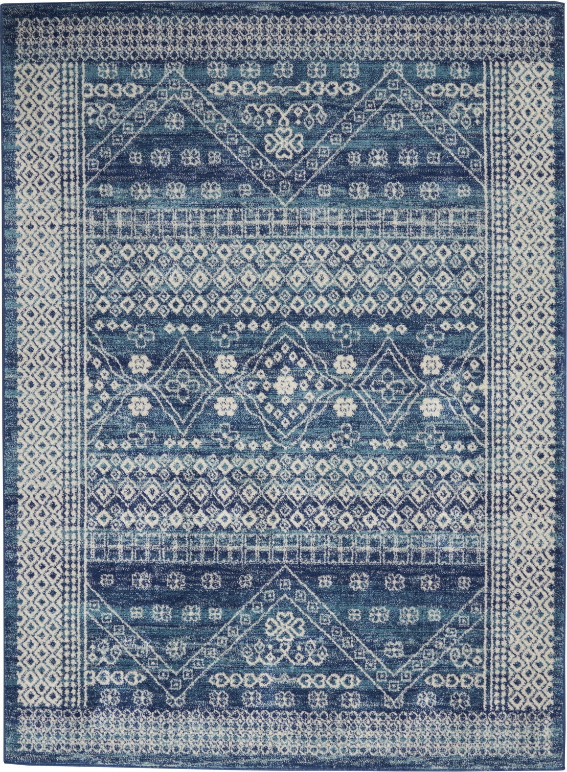 Nourison Passion Psn27 Navy Blue Area Rug Incredible Rugs And Decor
