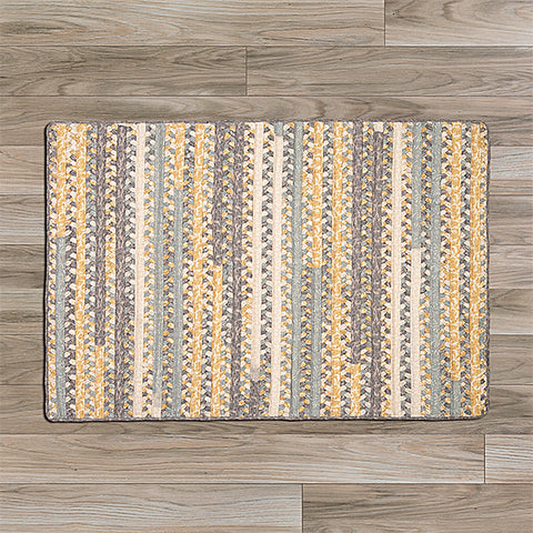 Colonial Mills Print Party PY39 Rectangle Shaded Yellow Area Rug main image