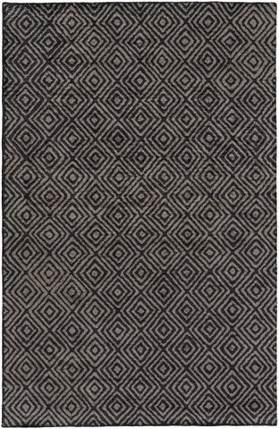 Surya Quartz QTZ-5008 Black Area Rug main image
