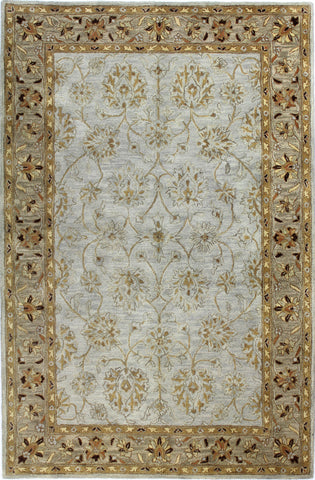 Bashian Wilshire R128-HG124 Light Blue Area Rug