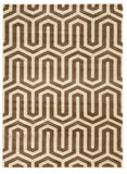 Linon Roma Collection RUGRA08 Ivory/Beige Area Rug main image