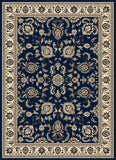 Radici Alba Alba-1426 Blue Machine Woven Area Rug