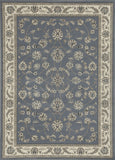 Radici Alba Alba-1596 Blue Machine Woven Area Rug