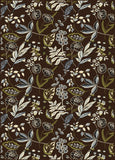 Radici Alba Alba-1857 Brown Area Rug