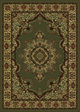 Radici Castello Castello-1191 Green Machine Woven Area Rug