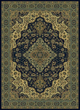 Radici Castello Castello-808 Blue Machine Woven Area Rug