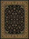 Radici Castello Castello-953 Black Machine Woven Area Rug