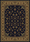Radici Castello Castello-953 Blue Machine Woven Area Rug