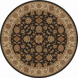 Radici Como Como-1592 Brown Area Rug
