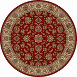 Radici Como Como-1592 Red Area Rug