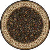 Radici Como Como-1593 Brown Area Rug