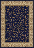 Radici Como Como-1599 Blue Machine Woven Area Rug