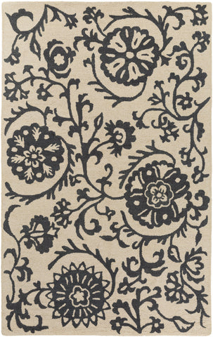 Artistic Weavers Rhodes Maggie Charcoal/Beige Area Rug main image