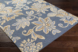 Artistic Weavers Rhodes Elsie Denim Blue/Beige Area Rug Corner Shot