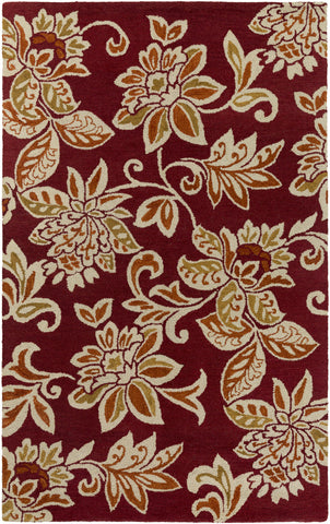 Artistic Weavers Rhodes Elsie Crimson Red/Dark Orange Area Rug main image