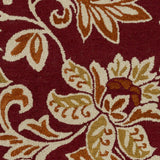Artistic Weavers Rhodes Elsie Crimson Red/Dark Orange Area Rug Swatch