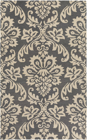 Artistic Weavers Rhodes Luna Charcoal/Ivory Area Rug main image