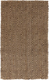Surya Reeds REED-806 Chocolate Area Rug main image