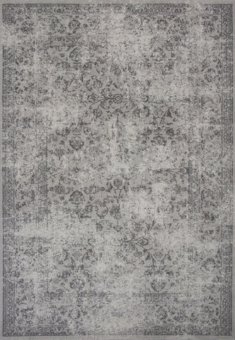 KAS Reflections 7427 Grey Vintage Machine Woven Area Rug